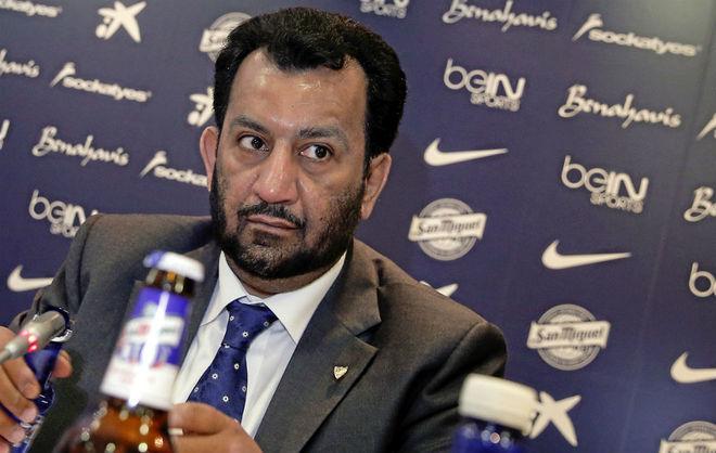 Paco Valverde habló sobre la situación de Al-Thani