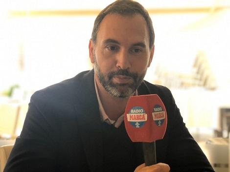 El director general del Marbella se mostró ambicioso desde Los Mellizos