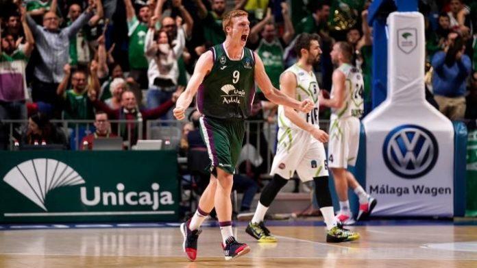 Alberto Díaz celebra una victoria en Europa