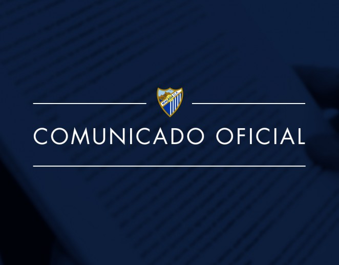El club comunica que se jugará a puerta cerrada en un comunicado
