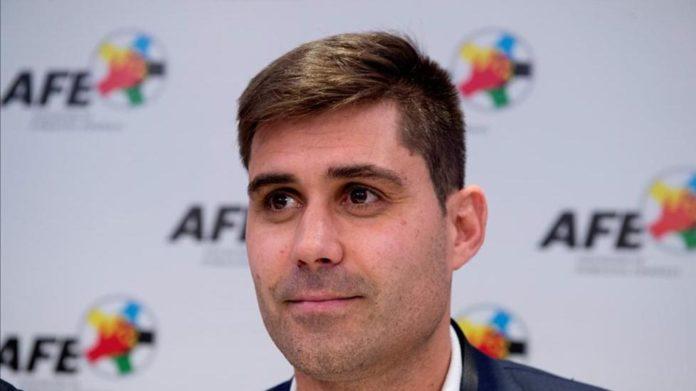 David Aganzo es el presidente de la AFE