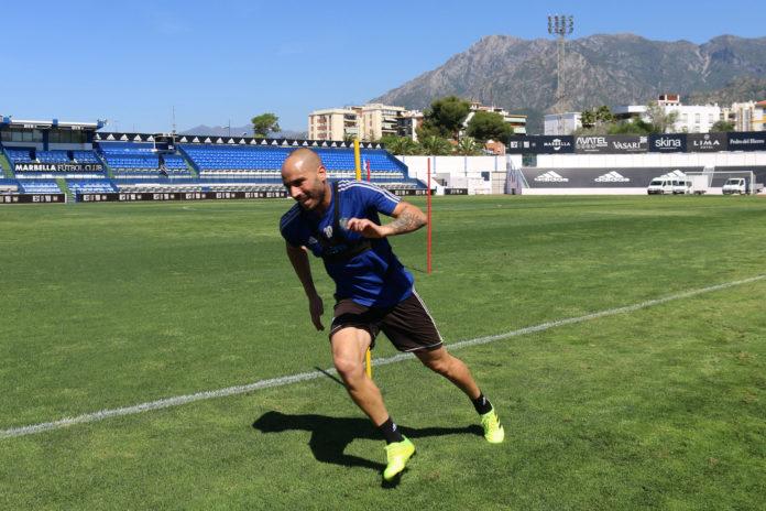 Marbella entrenamiento playoff ascenso Segunda