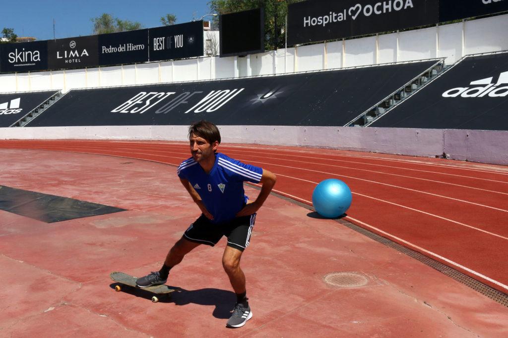 Marbella entrenamiento individual playoff ascenso