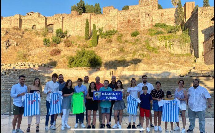 Presentación acuerdo Málaga CF Futsal y Playas de Málaga