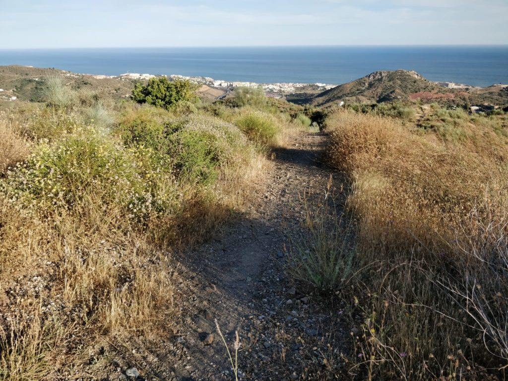 nuevo sendero Peñón Cuervo Olías Málaga