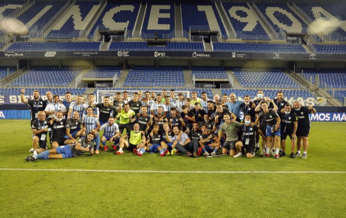 Una permanencia histórica para el Málaga