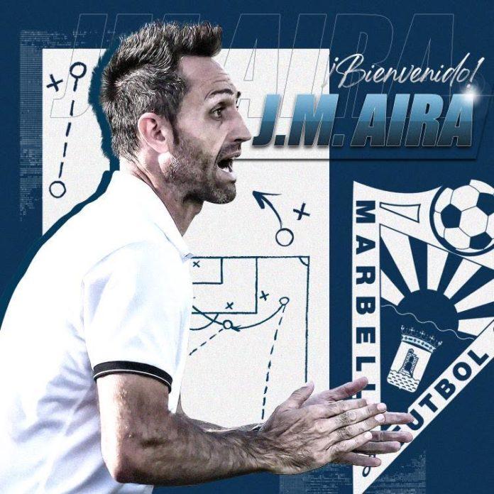 Aira es el nuevo entrenador del Marbella
