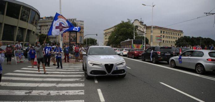Manifestación por las calles de A Coruña