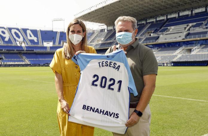 Puertas Tesesa patrocinador Málaga