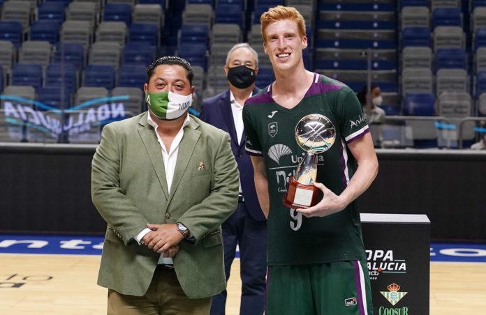 Unicaja, campeón Copa Andalucía, al ganar al Betis