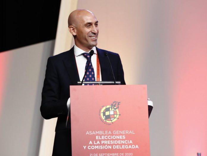 Rubiales reelegido presidente RFEF