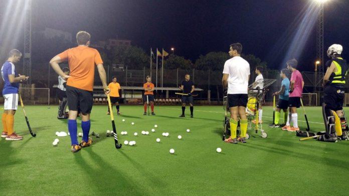 entrenamiento Hockey Benalmádena