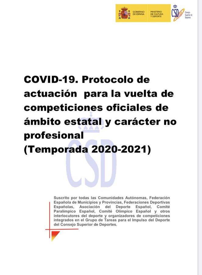 protocolo csd competiciones no profesionales