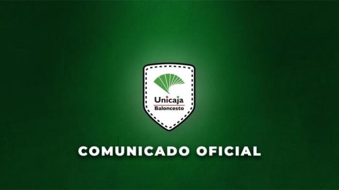 Unicaja confirma un caso positivo por Covid