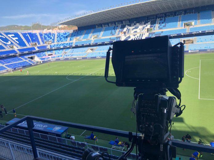 Cámara televisión cómo y dónde ver Málaga-Oviedo