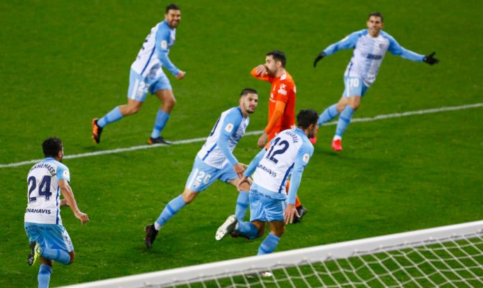 Málaga Oviedo 1-0 objetivos