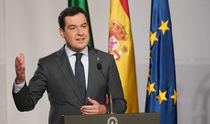 Moreno restricciones Andalucía covid-19