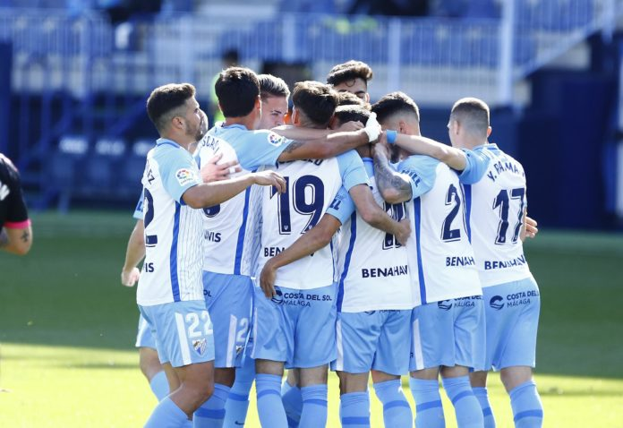 Málaga Rosaleda gol