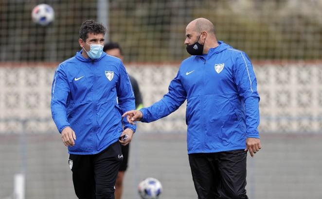 Funes y Bravo, técnicos del Atlético Malagueño