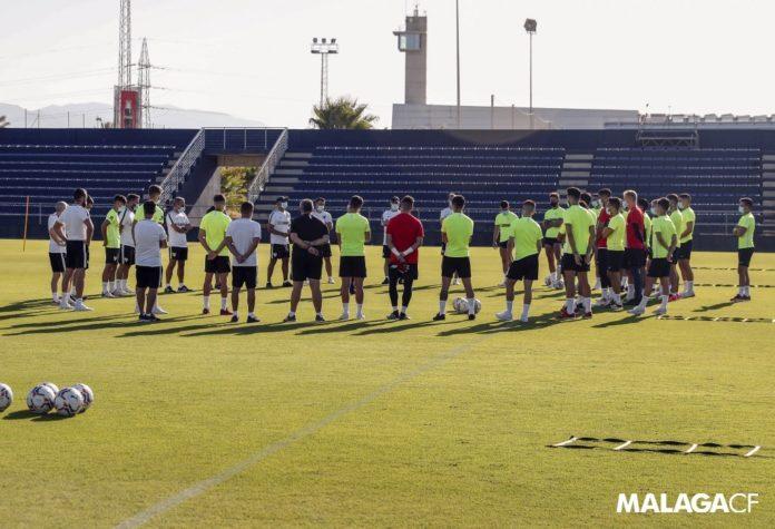Entrenamiento Málaga CF