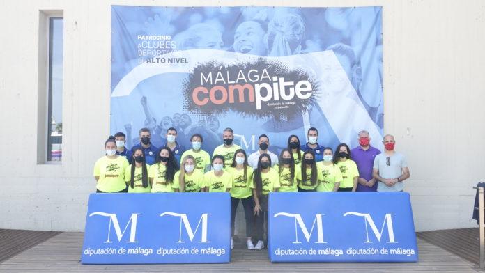 Recepción oficial del Atlético Torcal en la Diputación de Málaga