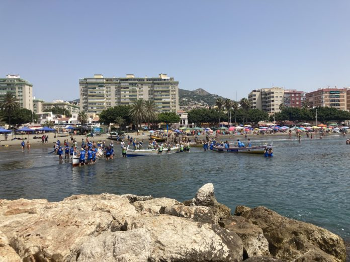 Intensa y vibrante jornada de regatas en el GP El Palo