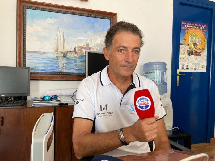 Javier Banderas en los micrófonos de Radio Marca Málaga