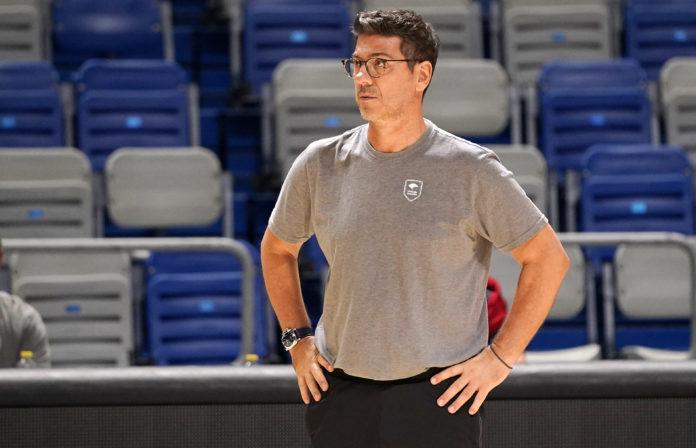 Fotis Katsikaris, entrenador del Unicaja