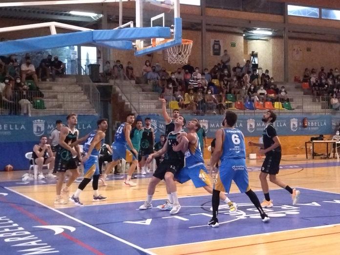 El CB Marbella impone su mayor categoría y se lleva la Supercopa Málaga ante el CAB Estepona (79-58)