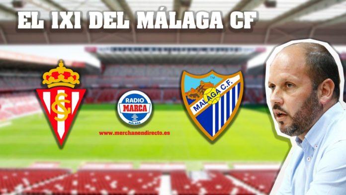 El 1x1 del Málaga en Gijón