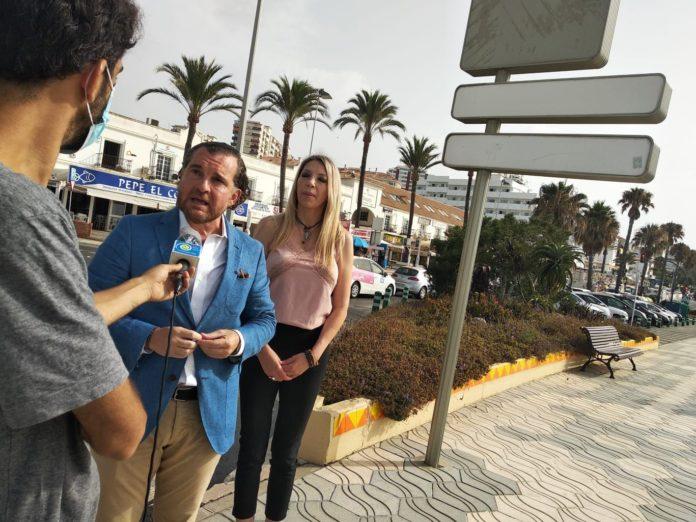 Vargas confía en que su moción para un proyecto con cuatro carriles en Benalmádena costa prospere en el próximo pleno
