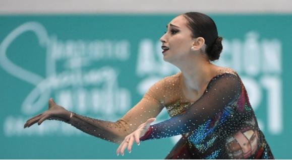 La fuengiroleña Natalia Baldizzone campeona del mundo en patinaje artístico
