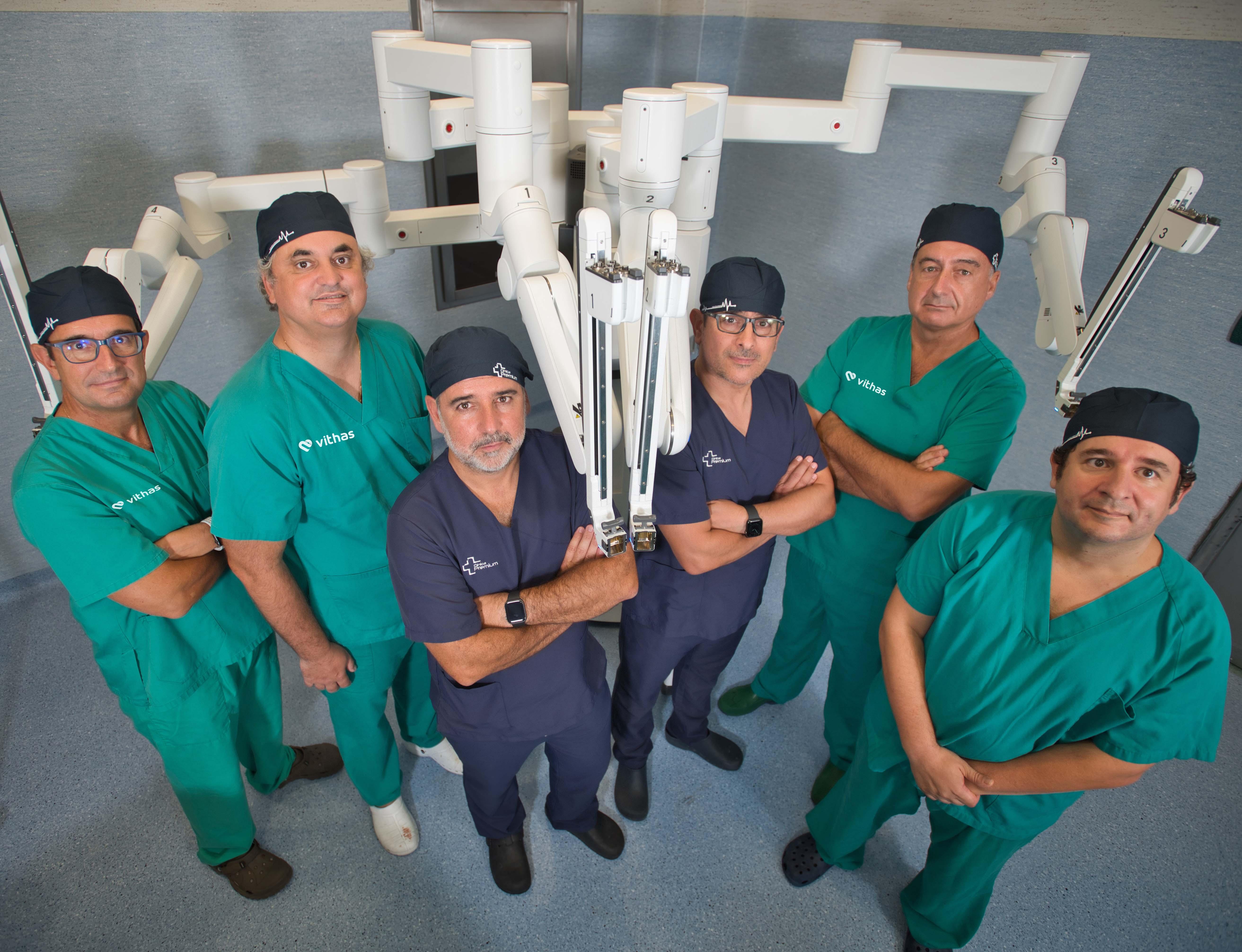 El Hospital Vithas Xanit Internacional incorpora un robot Da Vinci de la mano de la Clínica Premium Marbella