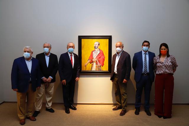 Una exposición del pintor Daniel Quintero en el Centro Cultural Fundación Unicaja rememora el milenario del nacimiento de Ibn Gabirol