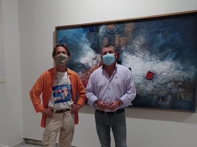 El artista Pablo Rodríguez impartirá talleres creativos de técnicas artísticas en el centro de exposiciones