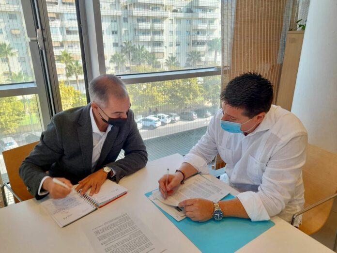 Juan Antonio Lara visita la Diputación de Málaga para abordar asuntos de interés en Benalmádena